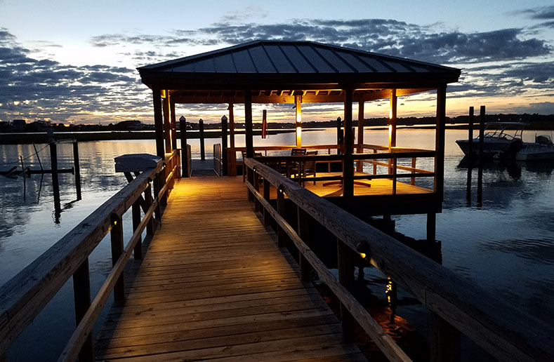 Pier Lighting Outdoor Illumination